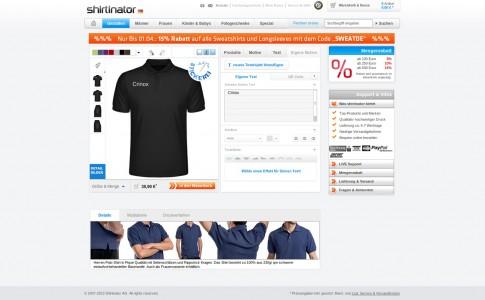 Ein individuelles T-Shirt gestalten