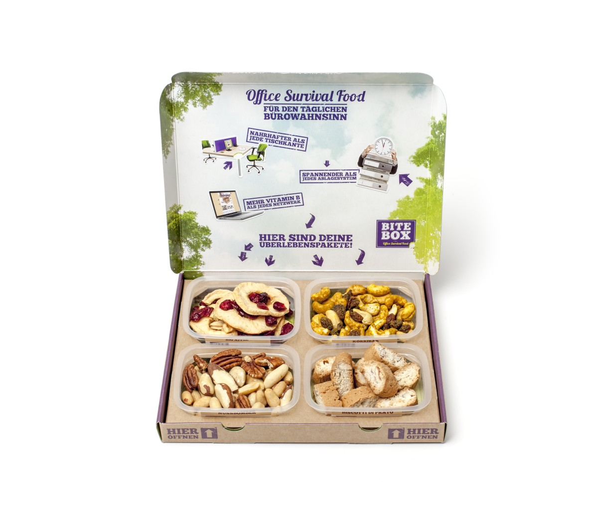 BiteBox - Office Survival Food | Quelle: BiteBox