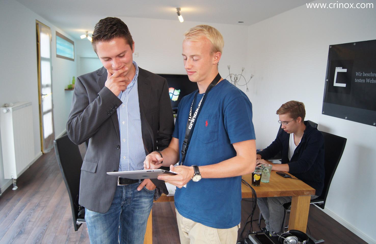 Christoph David Schneider im Gespräch im Smarthouse