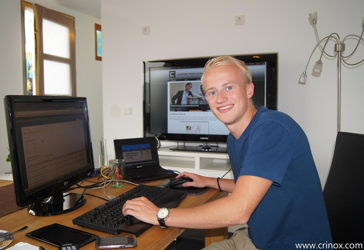 Christoph David Schneider im Smarthouse