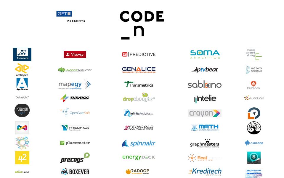 50 interessante und spannende Finalisten aus 16 Ländern | Quelle: GFT Innovations GmbH (CODE_n)