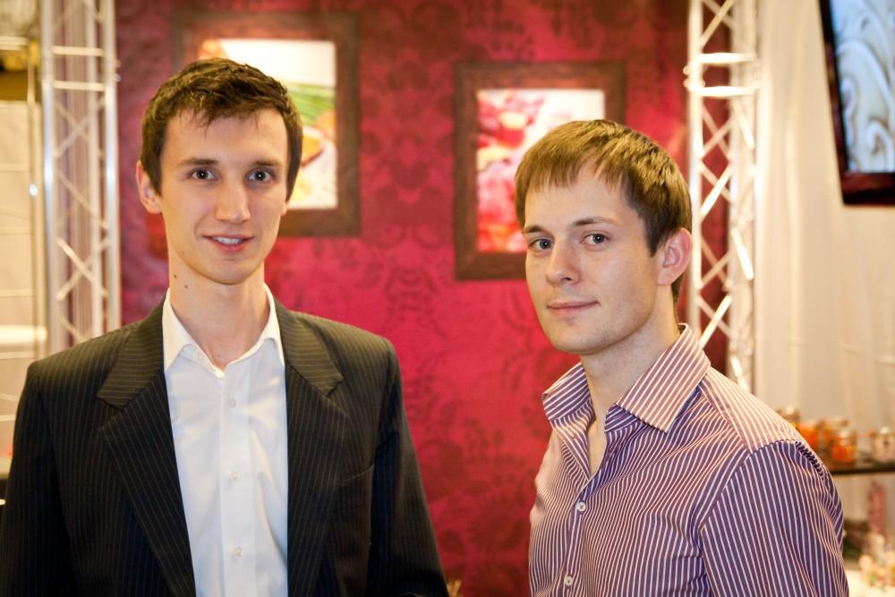 Die Gründer des Unternehmens Sascha Katzmann und Daniel Reiser