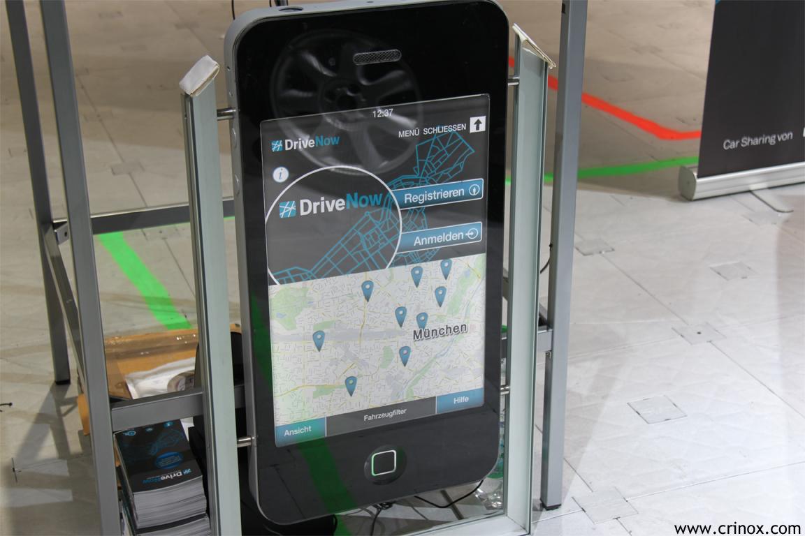 DriveNow auf dem iPhone