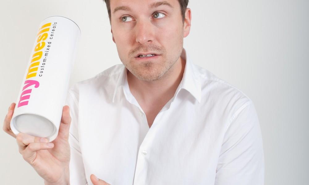 Max Wittrock Gründer von mymuesli (Bild: mymuesli)