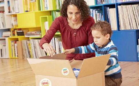 """Meine Spielzeugkiste: Spielzeugverleih mit """"rundum sorglos Paket"""""""