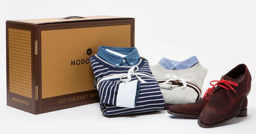 Modomoto - Styling-Boxen für Männer