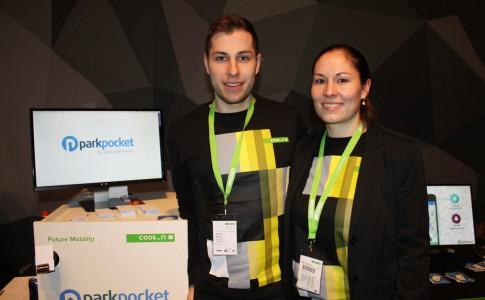 Die Geschwister Stefan und Caroline Bader sind die Gründer von ParkPocket.