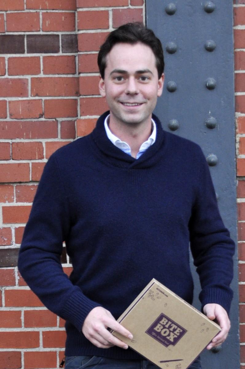 Philipp Festge, einer der BiteBox-Gründer | Quelle: BiteBox