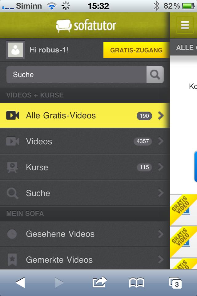 Sofatutor.com - Mit der App lernen