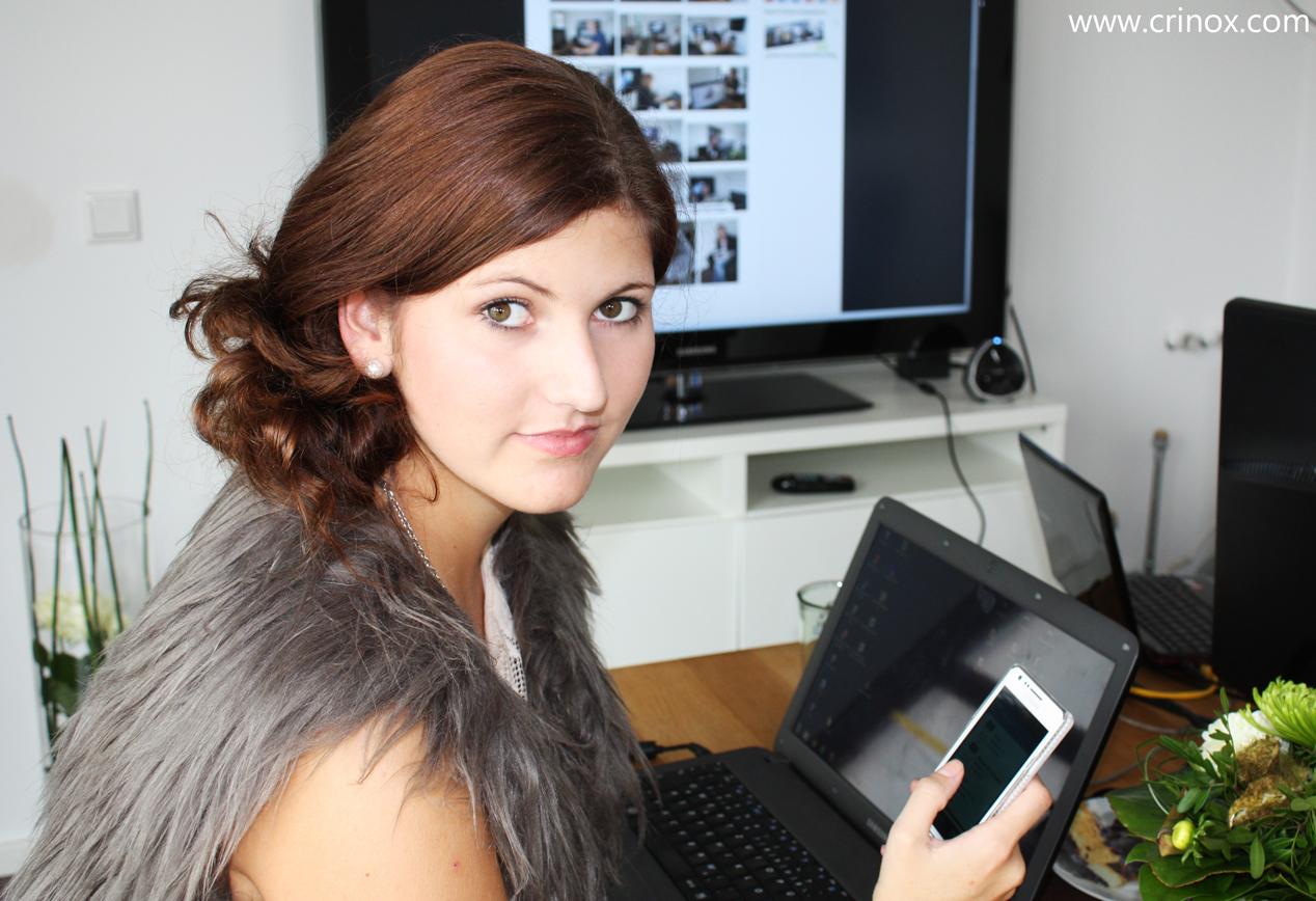 Sophie Nicol im Smarthouse