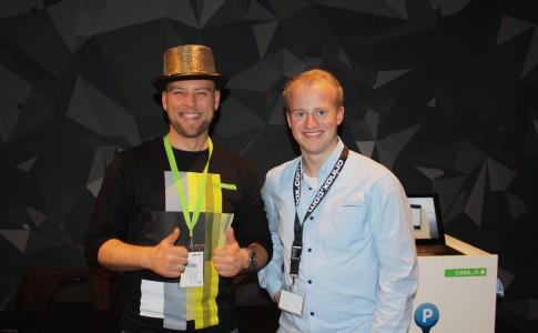 Silvan C. Rath Gründer von ParkTag und Christoph David Schneider