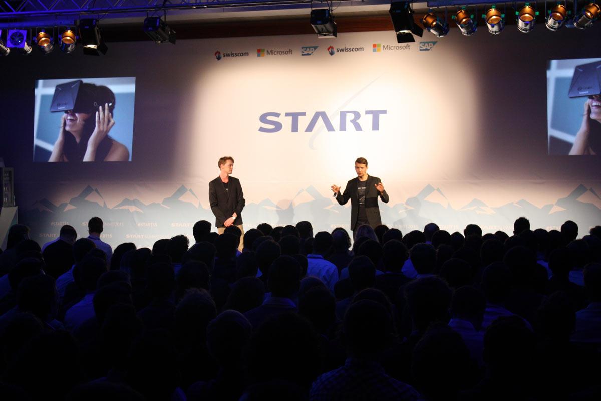Eröffnung des Start Summit 2015.