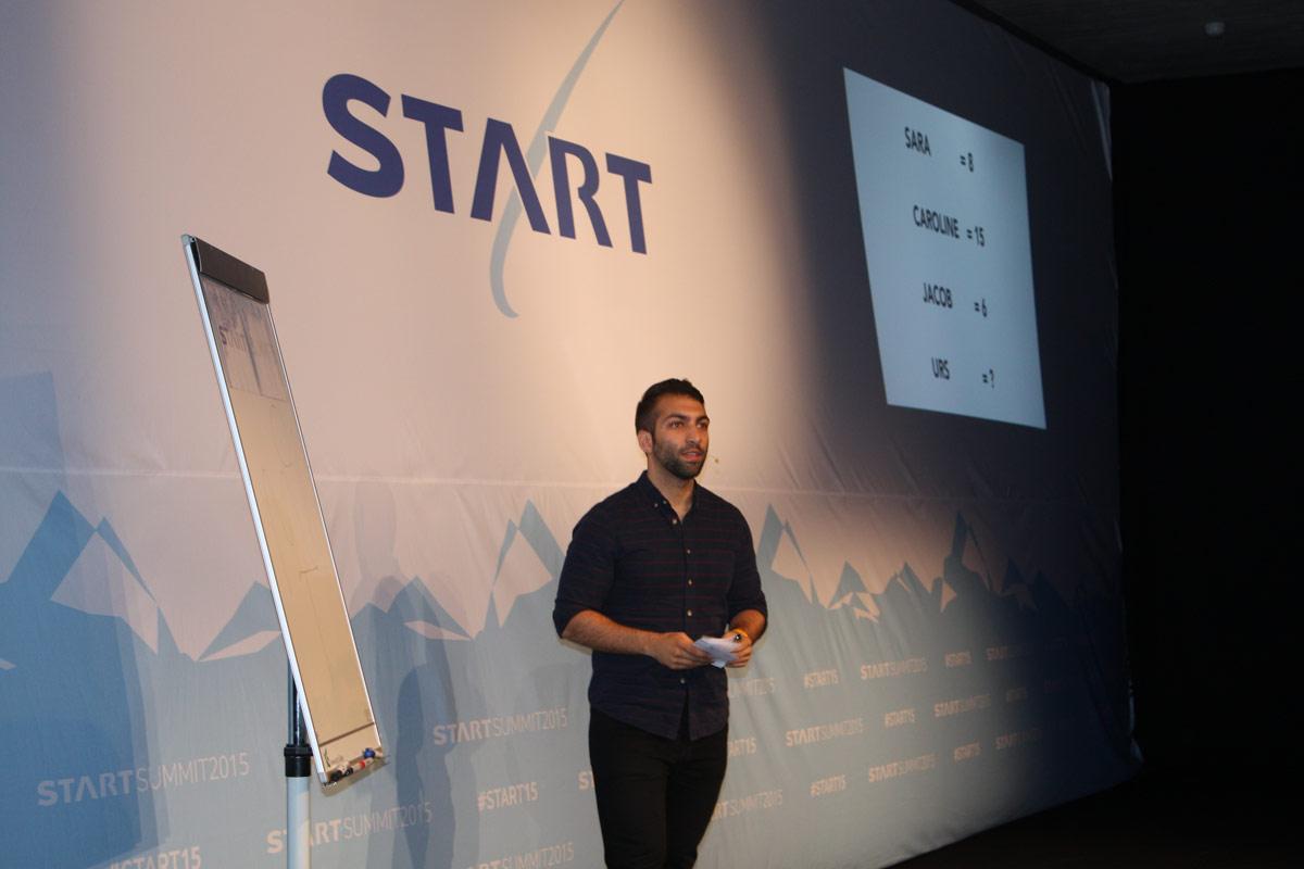 Omid Scheybani der für Google arbeitet hat eine sehr inspirierende Rede gehalten.