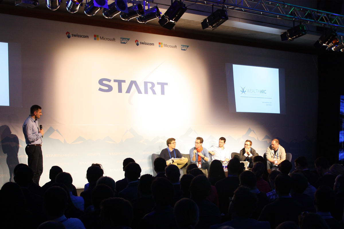 Jury der Start Competition des Start Summit 2015.