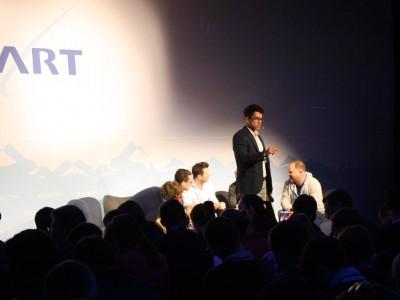 Laurent-Frédéric Lohmann Organisator des Events.