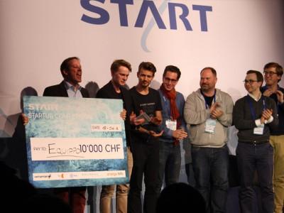 Equippo ist der Gewinner desr Startup Competition.
