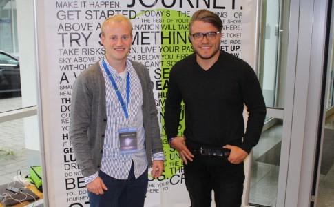 Christoph David Schneider im Intervew mit Clemes Walter Gründer der MyCouchbox