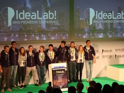 Die IdeaLab!-Gründerkonferenz 2015 der WHU