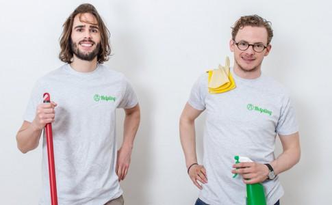 Benedikt Franke und Philip Huffmann Gründer von Helpling