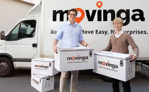 Die Movinga Gründer Bastian Knutzen und Chris Maslowski