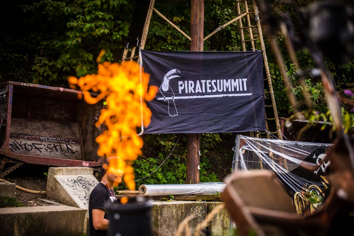 Pirate Summit 2015, © Dan Taylor