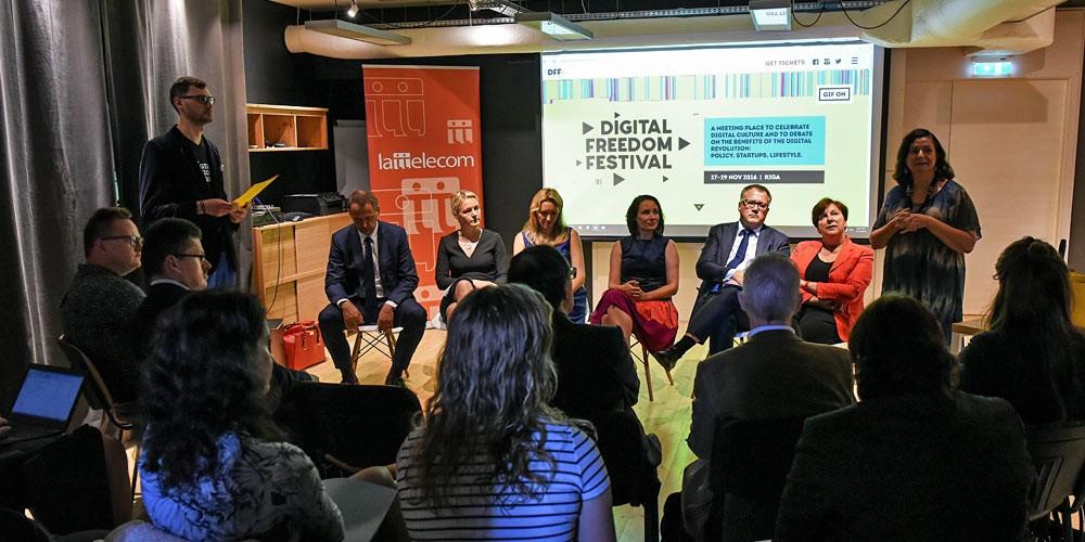 Digital Freedom Festival in Riga: Die Entrepreneurship Konferenz im Baltikum
