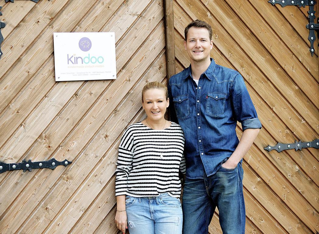 Die Kindoo Gründer Bea und Daniel