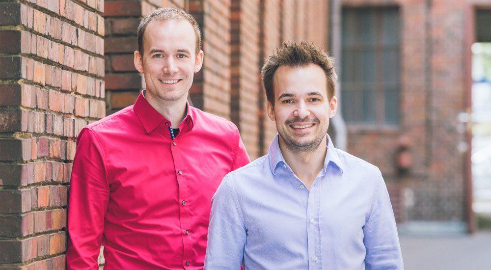 Die Getsurance Gründer: Dr. Viktor Becher (COO) und Dr. Johannes Becher (CEO)