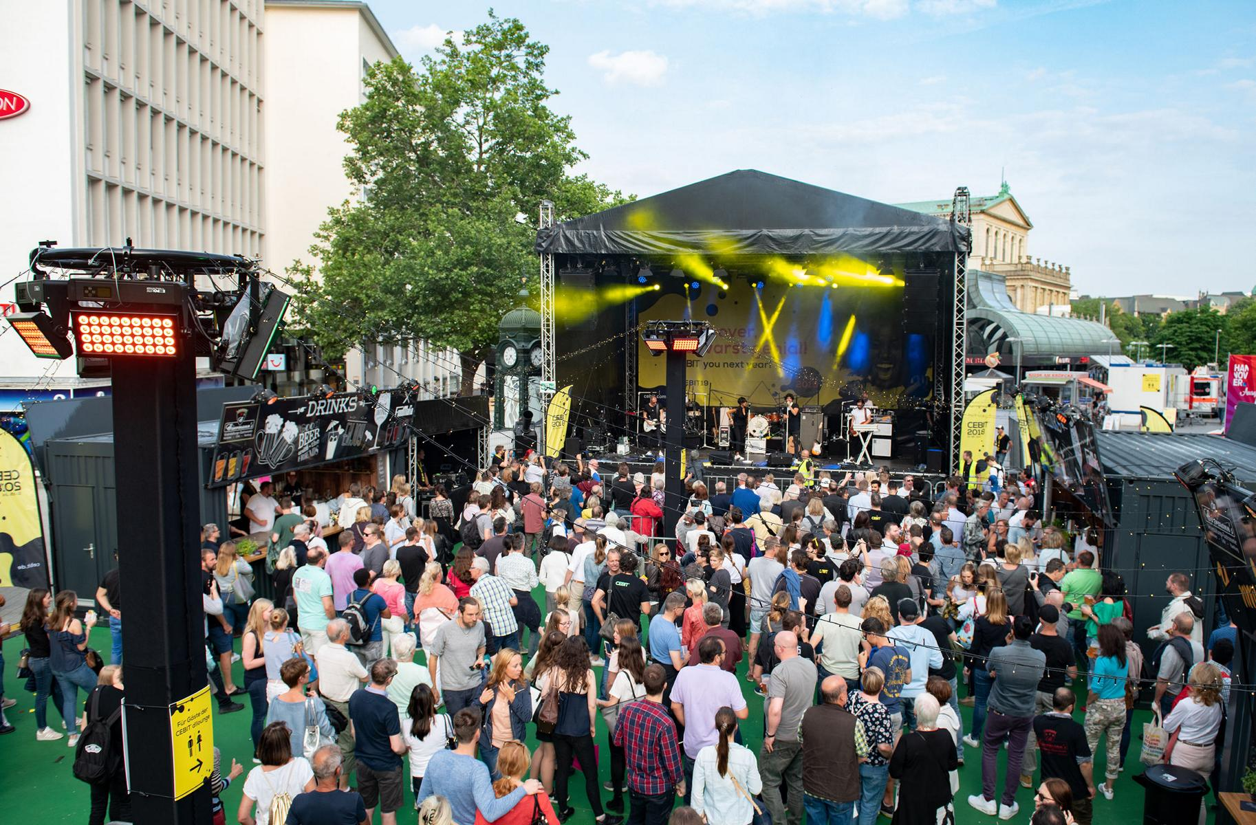Open-Air CEBIT Abschlussparty, 15. Juni 2018, Munique